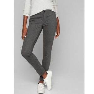 Athleta Ponte Skinny Pant Heather Grey